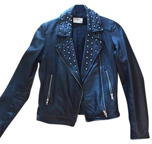 Torn by Ronny Kobo Leather Studded Leather Jacket