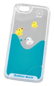 BRAND NEW Fun Ducklings Floating in Water Clear Hard Case Protective iPhone 6 Cover 4.7 Inch