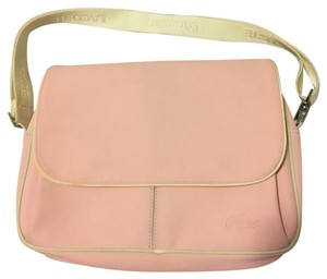 Lacoste Pink/white Messenger Bag