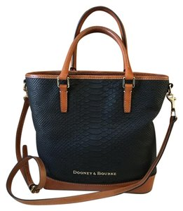 Dooney & Bourke Satchel in Black and Brown