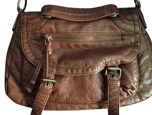 Icing Purse Satchel in Brown
