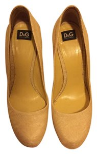 Dolce&Gabbana Pump Yellow Pumps