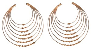 Other Brass-colored hoop earrings