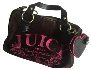 Juicy Couture Fashion Luxury Designer Satchel in Brown