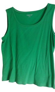 Coldwater Creek Casual Top Kelly Green