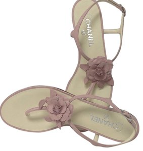 Chanel Soft pink Sandals