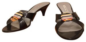 Via Spiga Black Sandals