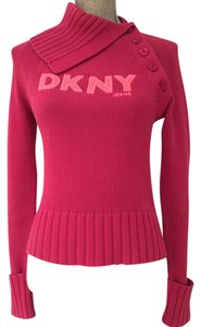 DKNY Fall Fall Turtlenecks Turtlenecks Turtleneck Turtleneck Cotton Cotton Cotton Cotton Foldover Foldover Sweater