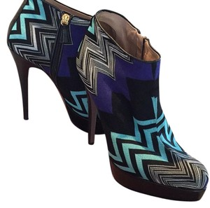 Missoni Multi (Purple/Black/Aqua/White) Boots