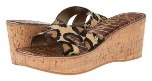 Sam Edelman Wedge Reid LEOPARD Sandals