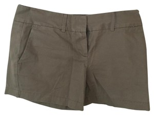 Ann Taylor LOFT Mini/Short Shorts Tan