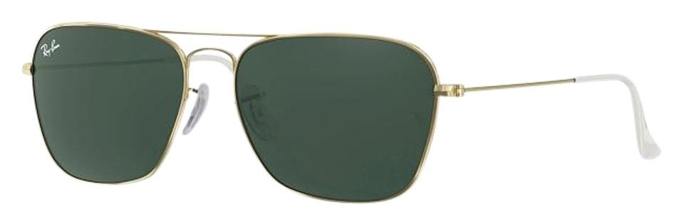 a7546c25a4e Ray-Ban Gold Rare Vintage W1344 Arista Classic Collection Sunglasses ...
