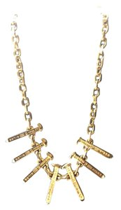 Giles & Brother 14K Gold Railroad Spike Necklace