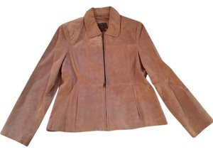 Uniform John Paul Richard Beige Leather Jacket