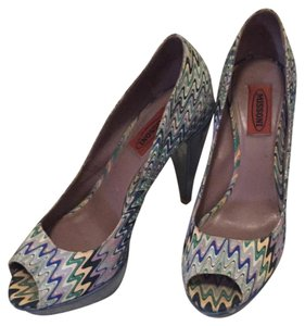 Missoni Blue Platforms