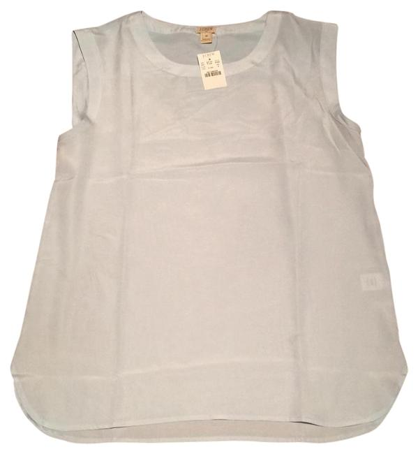 J.Crew Baby Blue Sleeveless Blouse Size 8 (M) J.Crew Baby Blue Sleeveless Blouse Size 8 (M) Image 1