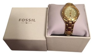 Fossil Gold Tone Watch