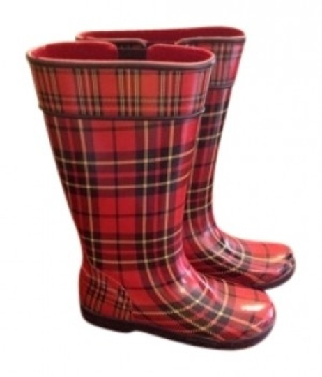 Preload https://img-static.tradesy.com/item/158522/sperry-red-plaid-bootsbooties-size-us-7-0-0-540-540.jpg