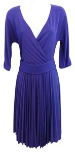 BCBGMAXAZRIA short dress Purple on Tradesy