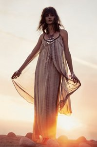 Multi Color Maxi Dress by RAGA Bohemian Festival Boho Aphrodite