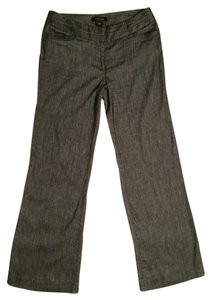 White House | Black Market Wide Leg Pants Dark Grey