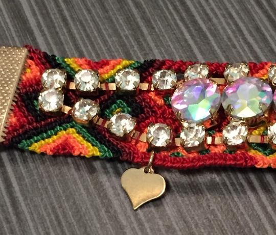 Fortuni New Fortuni Knit Bracelet With Borealis Crystals