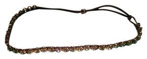 Henri Bendel Rose gold Crystal headband