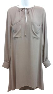 BCBGMAXAZRIA short dress Gray Brown on Tradesy