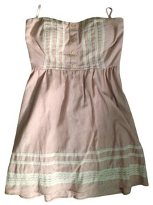 dELiA's short dress Pale Pink Strapless on Tradesy