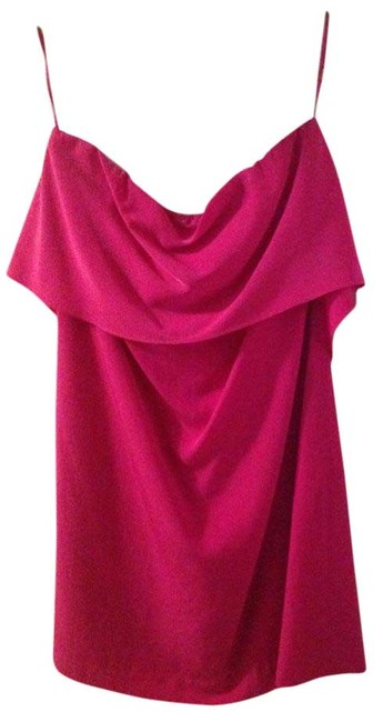 Item - Magenta/ Pink Mid-length Night Out Dress Size 12 (L)