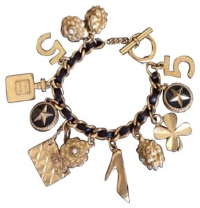 Chanel Chanel Vintage Iconic Lucky Charm Bracelet