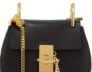 Chloé Black Messenger Bag