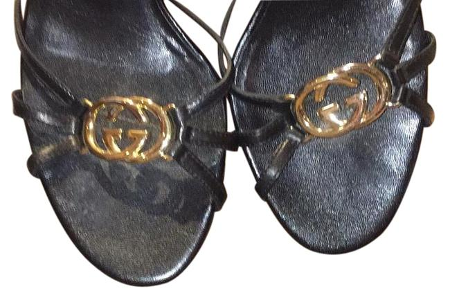 Item - Black Sandals Size US 8 Regular (M, B)