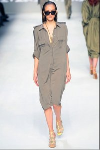 Max Mara short dress Moss Designer Runway on Tradesy