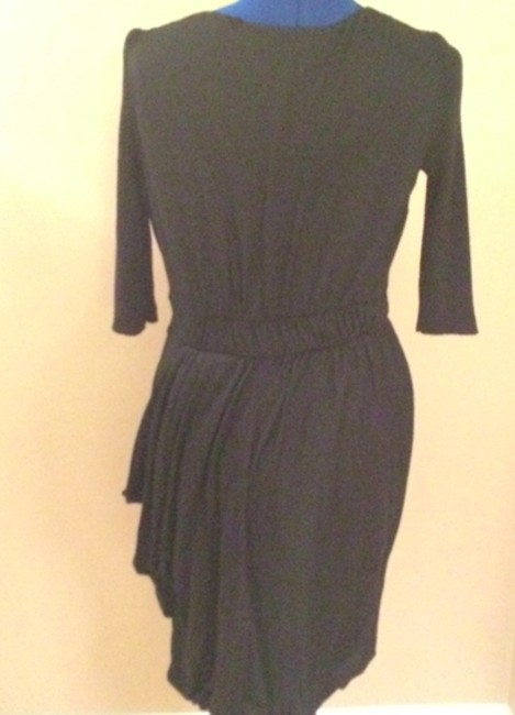 Sportmax Winter Velvet Asymmetrical Sleeves Dinner Party Christmas Dress