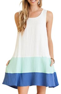 entro short dress White on Tradesy