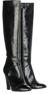 Marc Jacobs Knee High Leather Black Boots