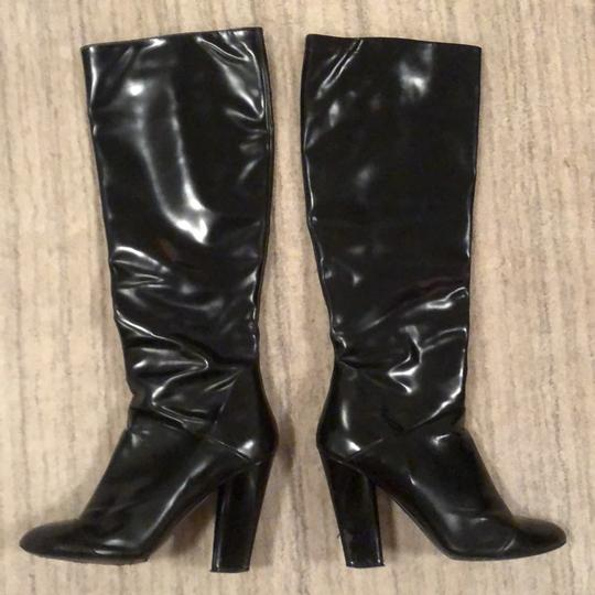 Marc Jacobs Knee High Leather Black Boots Image 1
