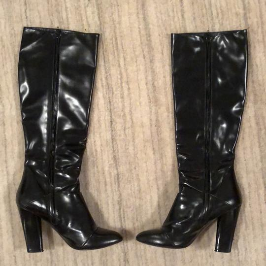 Marc Jacobs Knee High Leather Black Boots Image 2