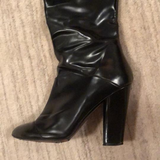 Marc Jacobs Knee High Leather Black Boots Image 3
