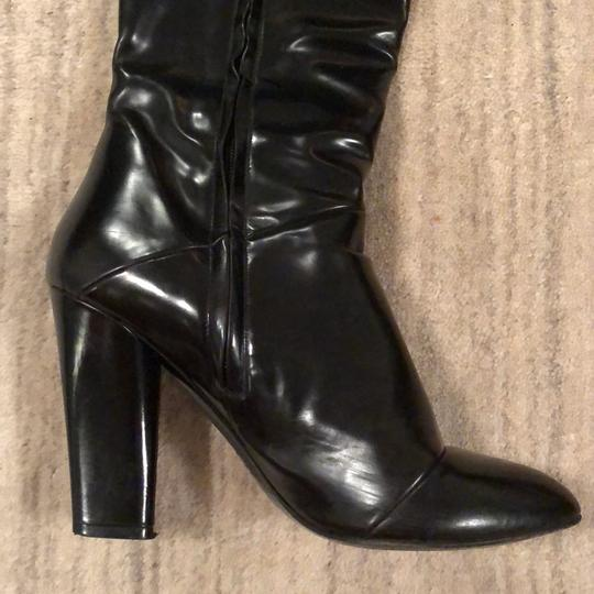 Marc Jacobs Knee High Leather Black Boots Image 5