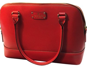 Kate Spade Satchel in Empire Red