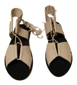 Alexander Wang Attractive Style Adjustable Vamp Made In Italy Peroxide Sandals