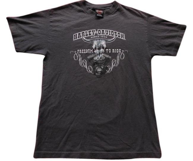 Preload https://item4.tradesy.com/images/harley-davidson-gray-freedom-to-ride-nags-cotton-tee-shirt-size-10-m-1585653-0-0.jpg?width=400&height=650