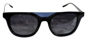 Dior NEW Dior Homme Black Tie 200 Black Blue Flat Top Sunglasses