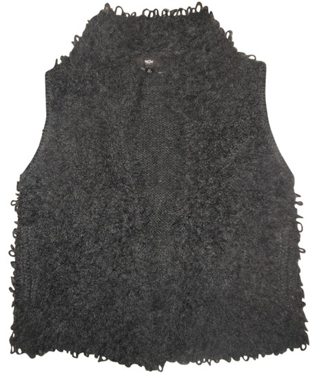 high-quality Mossimo Supply Co. Fuzzy Furry Front Vest Sweater - kdb ... dd1a5d58c