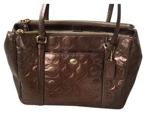 Coach Tote in Bronze