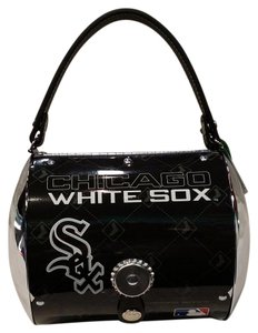 Little Earth License Plate Metal Super Cyclone Chicago White Sox Baguette