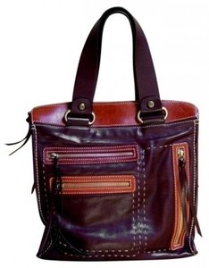 Francesco Biasia Tote in Brown Multi