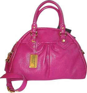 Marc by Marc Jacobs Jacob Designer Satchel in Fuchsia
